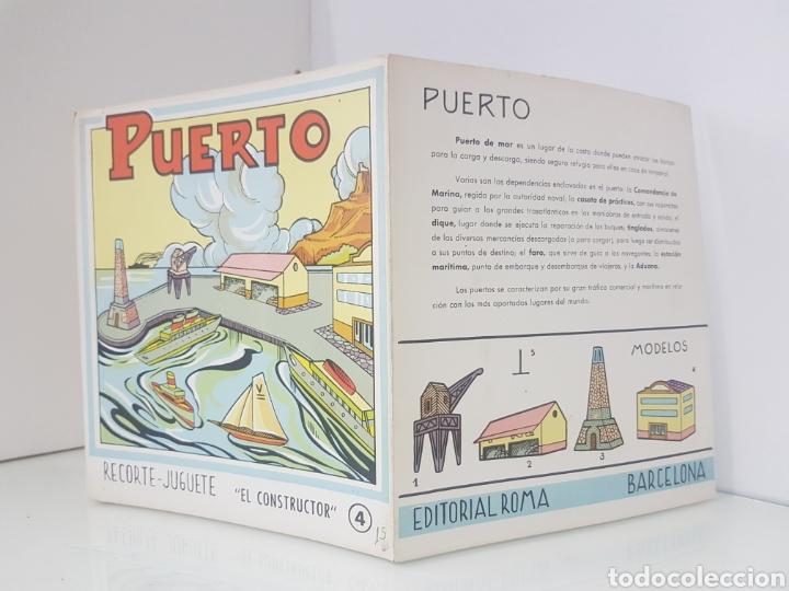 Coleccionismo Recortables: Recorte juguete el consultor número 4 puerto editorial Roma Barcelona medida libro 18 x 20 cm - Foto 4 - 147169913