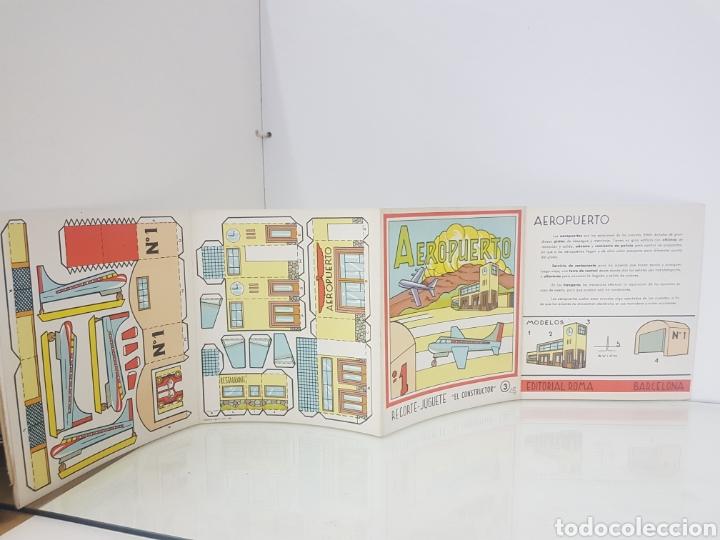 Coleccionismo Recortables: Recortes juguete el consultor aeropuerto número 3 edición Roma Barcelona - Foto 2 - 147170309