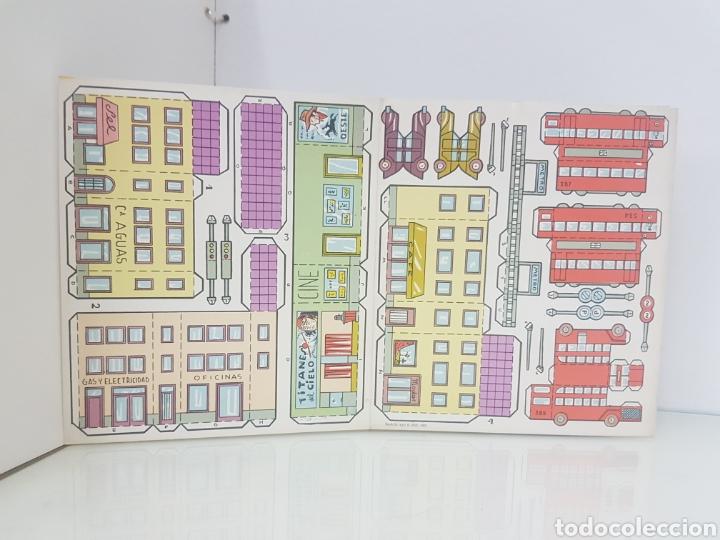 Coleccionismo Recortables: Recortes juguete servicios urbanos el consultor número 1 libro de 18 x 20 cm editorial Roma Barcelon - Foto 3 - 147171184