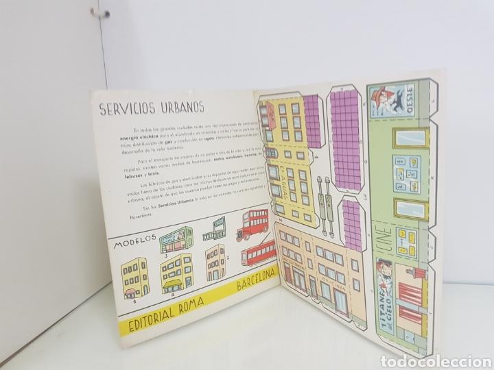 Coleccionismo Recortables: Recortes juguete servicios urbanos el consultor número 1 libro de 18 x 20 cm editorial Roma Barcelon - Foto 4 - 147171184