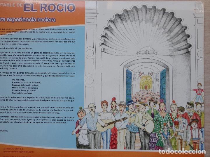 Coleccionismo Recortables: CUADERNO RECORTABLE.EL PASO DE LA VIRGEN DEL ROCIO. - Foto 2 - 269387083