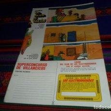 Coleccionismo Recortables: CONSTRUYE LA ALDEA DE BELÉN. REVISTA LOS ELECTRODUENDES. URBIÓN 1986. BUEN ESTADO.. Lote 147477254