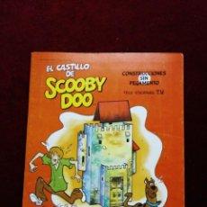 Coleccionismo Recortables: EL CASTILLO DE SCOOBY DOO. CONSTRUCCIONES SIN PEGAMENTO.. Lote 148273670