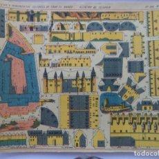 Coleccionismo Recortables: HERNANDO ALCAZAR DE SEGOVIA Nº 168 M EDIFICIOS Y MONUMENTOSCELEBRES DE TODO EL MUNDO. Lote 151511206
