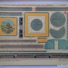 Coleccionismo Recortables: HERNANDO Nº 178 M CASTILLO DE SNAT·ANGELO EN ROMA ITALIA EDIFICIOS Y MONUMENTOS CELEBRES DE TODO EL . Lote 151626330