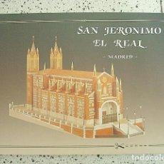 Coleccionismo Recortables: +MGRT+ RECORTABLE DE SAN JERONIMO EL REAL DE MADRID. Lote 151631022