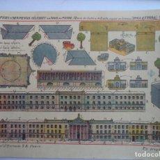 Coleccionismo Recortables: HERNANDO Nº 186 M PALACIO DE JUSTICIA DE DUBLIN CAPITAL DE IRLANDA INGLATERRA EDIFICIOS Y MONUMENTOS. Lote 151708258