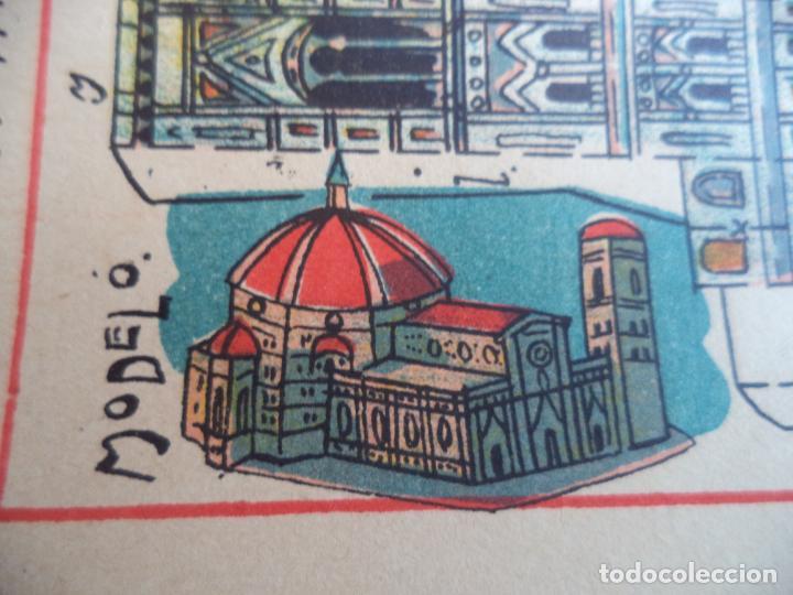 Coleccionismo Recortables: HERNANDO Nº 185m CATEDRAL DE FLORENCIA ITALIA EDIFICIOS Y MONUMENTOS CELEBRES DE TODO EL MUNDO - Foto 2 - 151708954
