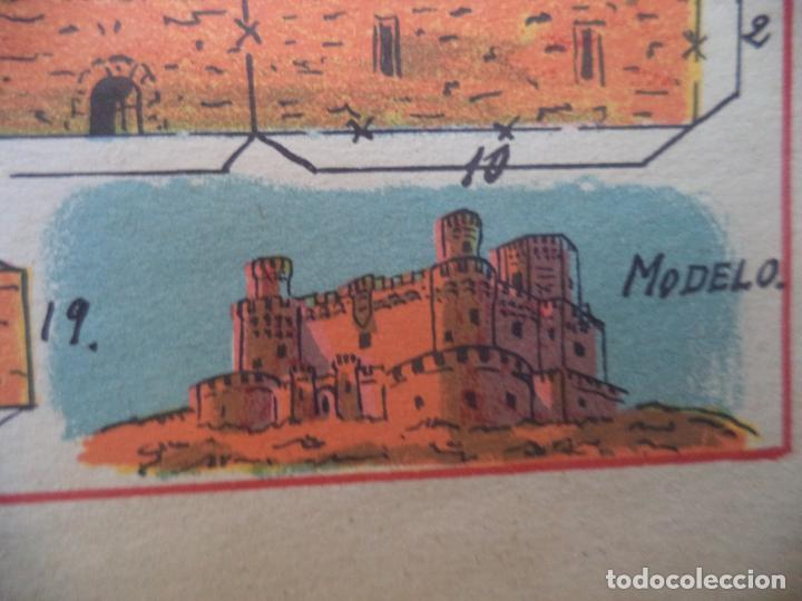 Coleccionismo Recortables: HERNANDO CASTILLO MANZANARES DEL REAL ESPAÑA 208 MEDIFICIOS Y MONUMENTOS CELEBRES DE TODO EL MUNDO - Foto 2 - 151957966