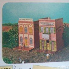 Coleccionismo Recortables: ROLLAN CANYON CITY Nº 7 2 HOJAS DE 33X23 CM BANCO IMPRENTA. Lote 152144890