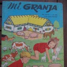 Coleccionismo Recortables: MI GRANJA LITO SA TROQUELADO . Lote 152154350