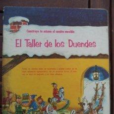 Coleccionismo Recortables: EL TALLER DE LOS DUENDES CONSTRUYE UN CUADRO MOVIL. Lote 152280262