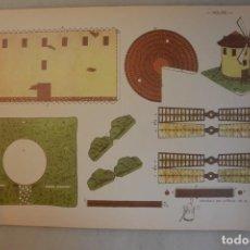 Coleccionismo Recortables: HOJA RECORTABLE MOLINO Nº 7 EDICIONES ZULIA. Lote 152896858