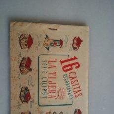 Coleccionismo Recortables: CUADERNO RECORTABLE LA TIJERA LILIPUT. Lote 153552162