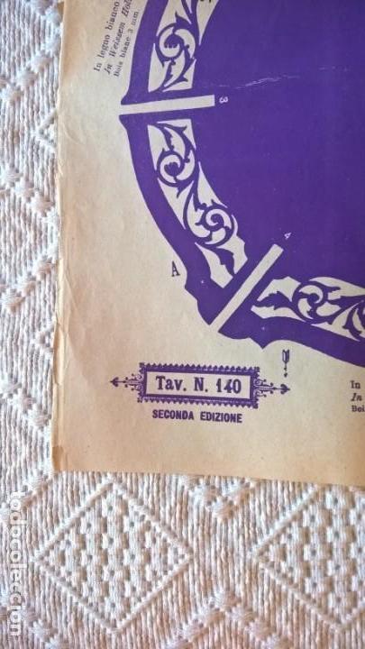 Coleccionismo Recortables: L´Arte del Traforo. Arturo Fumel 1884. Porta Zigari. TAV 140 Seconda Enzione. Plano para calado - Foto 3 - 154179298