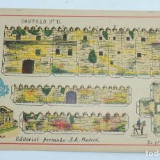 Coleccionismo Recortables: RECORTABLE EDITORIAL HERNANDO MADRID, Nº 11 CASTILLO, MIDE 23,5 X 16 CMS., EXCELENTE ESTADO. Lote 154262874