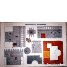 Coleccionismo Recortables: FORTALEZA DE DOS TORRES. RECORTABLES EVA 2.409.. Lote 47993234