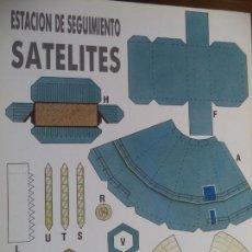 Coleccionismo Recortables: ESTACION DE SEGUIMIENTO SATELITES 4 PAGINAS 29X20,5 CM. Lote 155611954