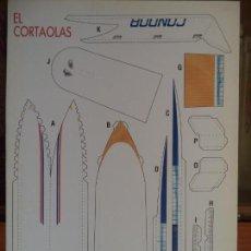 Coleccionismo Recortables: EL CORTAOLAS 4 PAGINAS DE 29X20,5 . Lote 155638818