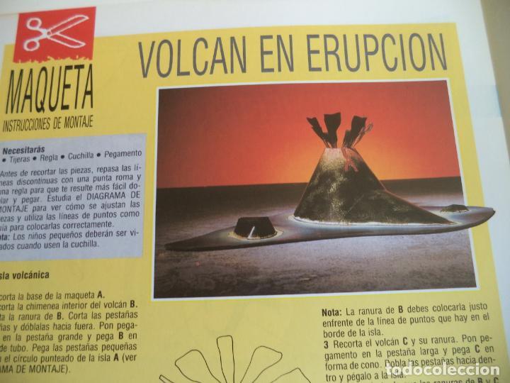 Coleccionismo Recortables: VOLCAN EN ERUPCION 4 PAGINAS DE 29X20,5 CM - Foto 2 - 155639426