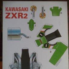 Coleccionismo Recortables: KAWASAKI ZXR2 4 PAGINAS 29X20,5. Lote 155639950