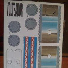 Coleccionismo Recortables: VOLTEADOR 4 PAGINAS DE 29X20,5 CM. Lote 155642978