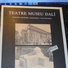 Coleccionismo Recortables: DALI - TEATRE MUSEU DALI - RECORTABLE 1984 DISSENY NÉSTOR PELLICER TEXT RAFAEL PASCUET PAPERS I GRAV. Lote 155969138