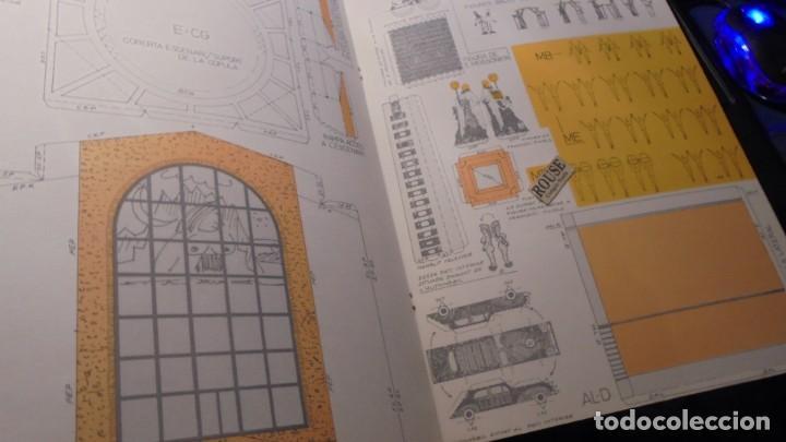 Coleccionismo Recortables: DALI - TEATRE MUSEU DALI - RECORTABLE 1984 DISSENY NÉSTOR PELLICER TEXT RAFAEL PASCUET PAPERS I GRAV - Foto 2 - 155969138