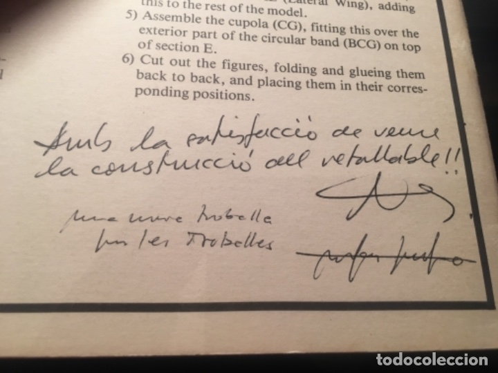 Coleccionismo Recortables: DALI - TEATRE MUSEU DALI - RECORTABLE 1984 DISSENY NÉSTOR PELLICER TEXT RAFAEL PASCUET PAPERS I GRAV - Foto 11 - 155969138