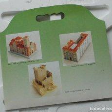 Coleccionismo Recortables: CARPETA 3 RECORTABLES DE EDIFICIOS SINGULARES DE ALBACETE - EDITA: DIPUTACIÓN DE ALBACETE. Lote 159437574