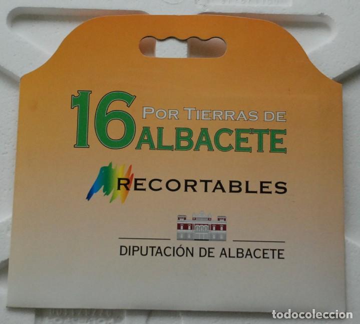 Coleccionismo Recortables: CARPETA 3 RECORTABLES DE EDIFICIOS SINGULARES DE ALBACETE - Edita: DIPUTACIÓN DE ALBACETE. - Foto 2 - 159438282