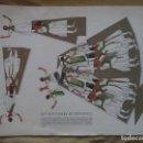 Coleccionismo Recortables: RECORTABLE ELS DANSADORS DE PEÑISCOLA 55X40 CM. Lote 161095221