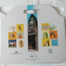 Coleccionismo Recortables: CARPETA 1 RECORTABLES EDIFICIOS SINGULARES ALBACETE - MUSEO CUCHILLERIA ALBACETE EDITA: FUDECU. Lote 159572894