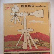 Coleccionismo Recortables: SUPLEMENTO REVISTA YO MOLINO HIDRAULICO. Lote 159968102