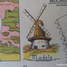 Coleccionismo Recortables: RECORTABLES MARCA EL TORO SERIE C Nº 9 MOLINO DE VIENTO. Lote 160339822