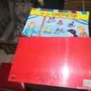 Coleccionismo Recortables: 2 LIBRETAS CON 5 RECORTABLES INFANTILES: TALLER DEL CONSTRUCTOR - EDITADO POR CON-ISA - NUEVO.. Lote 160887374