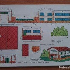 Colecionismo Recortáveis: RECORTABLE ESTRELLA - CASA Nº 5. Lote 196017593