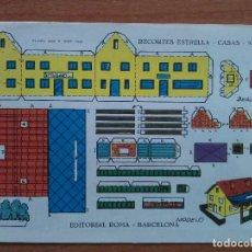 Colecionismo Recortáveis: RECORTABLE ESTRELLA - CASA Nº 15. Lote 196017563