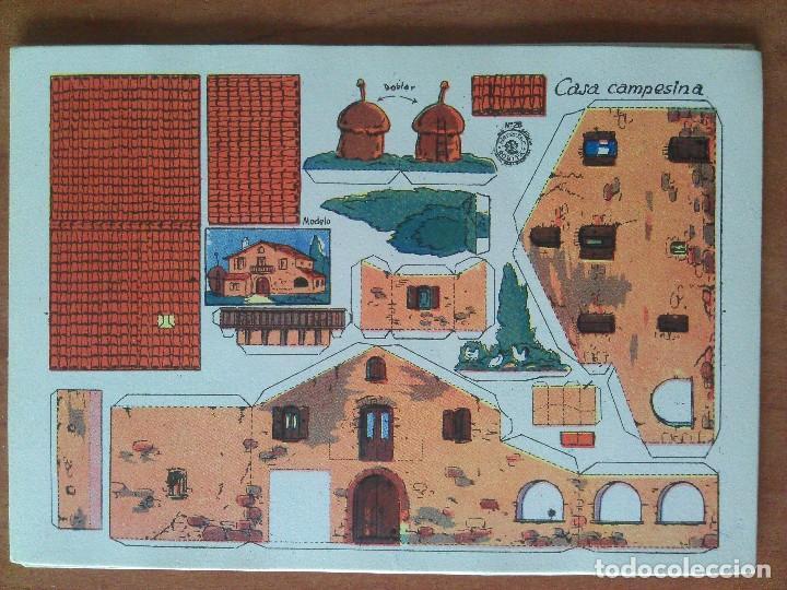 RECORTABLE ROSITA CASA CAMPESINA Nº 28 (Coleccionismo - Recortables - Construcciones)