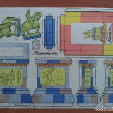 Coleccionismo Recortables: RECORTABLE AZUCENA MONUMENTO Nº 23. Lote 162133966