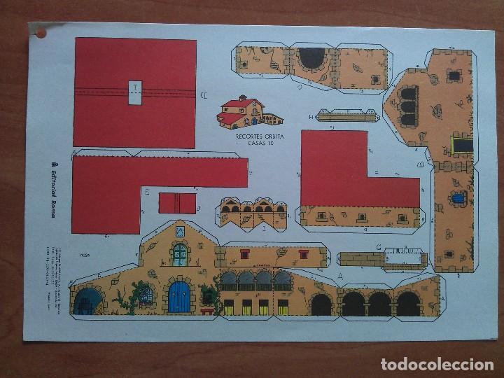 RECORTABLE ORBITA CASAS Nº 10 (Coleccionismo - Recortables - Construcciones)