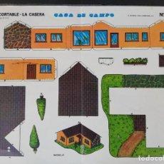Coleccionismo Recortables: RECORTABLE LA CASERA CASA DE CAMPO N 5. Lote 162605178