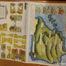 Coleccionismo Recortables: CONSTRUCCIONES CALLEJA.- 4ª SERIE Nº 4.- LA RECONQUISTA.. Lote 162777990