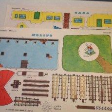 Coleccionismo Recortables: RECORTABLES DE CONSTRUCCIÓN EVA . Lote 162920462