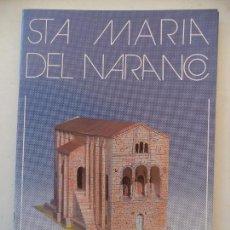 Coleccionismo Recortables: MONUMENTOS RECORTABLES STA MARIA DEL NARANCO SALVATELLA 12 HOJAS DE 32X21,5 CM. Lote 213954052