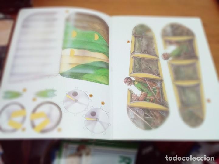 Coleccionismo Recortables: CONSTRUYE MÁQUINAS RECORTABLES. AVIÓN SPAD. EDITA SUSAETA. EST221 - Foto 3 - 163504278