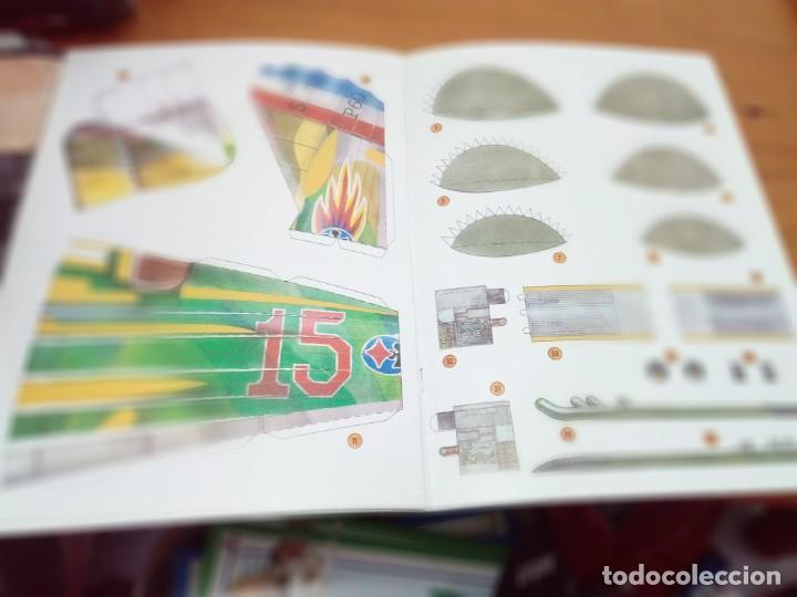 Coleccionismo Recortables: CONSTRUYE MÁQUINAS RECORTABLES. AVIÓN SPAD. EDITA SUSAETA. EST221 - Foto 5 - 163504278