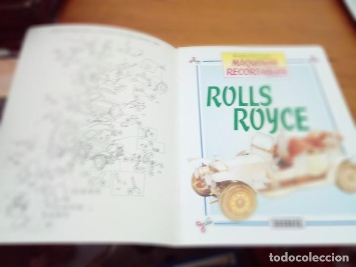 Coleccionismo Recortables: CONSTRUYE MÁQUINAS RECORTABLES ROLLS ROYCE. EST22B1 - Foto 2 - 163504394