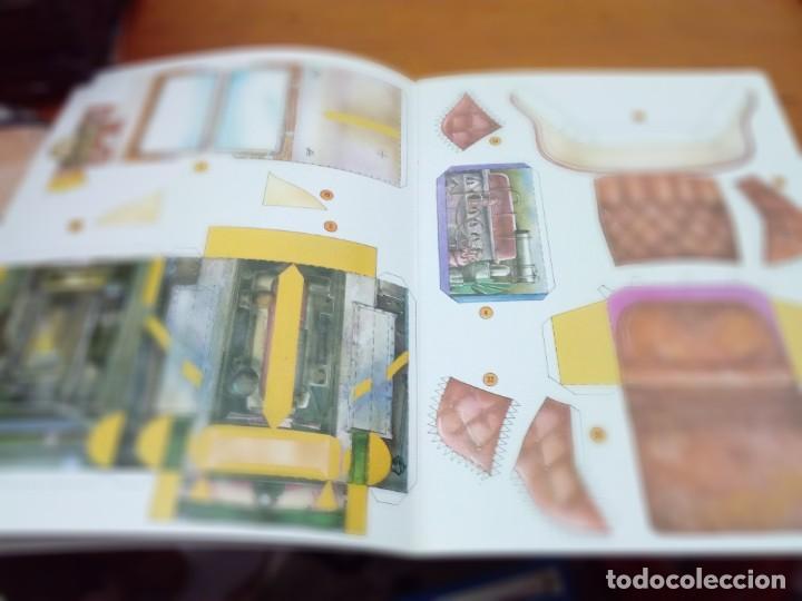 Coleccionismo Recortables: CONSTRUYE MÁQUINAS RECORTABLES ROLLS ROYCE. EST22B1 - Foto 3 - 163504394