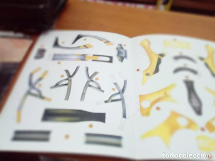 Coleccionismo Recortables: CONSTRUYE MÁQUINAS RECORTABLES. MOTO. SUSAETA. EST22B1 - Foto 5 - 163504514
